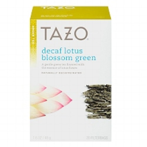 Tazo Green Tea, Decaf Lotus Blossom
