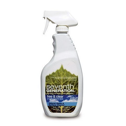 Seventh Generation, Free & Clear Glass & Surface Cleaner 32 Ounces: Health & Personal Care [1 Pack]