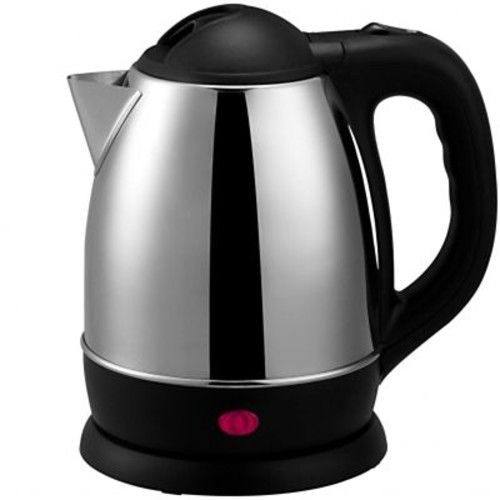 Brentwood 1.2 Litre Cordless Stainless Steel Electric Tea Kettle, Brushed