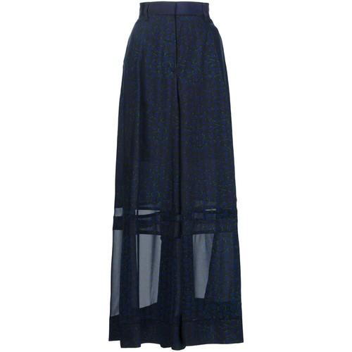 SACAI Printed Maxi Skirt