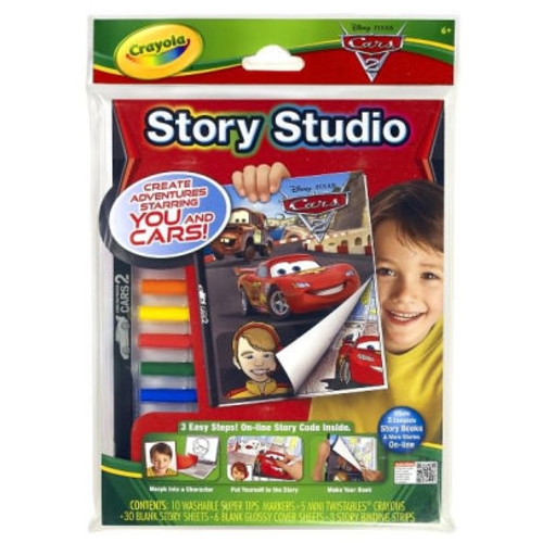 Crayola Story Studio Disney Cars
