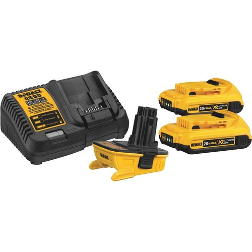 DeWalt 20V MAX Battery Adapter Combo Kit - DCA2203C