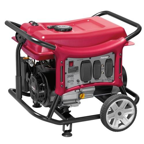 Powermate CX Series 3500-Watt Gasoline Powered Portable Generator