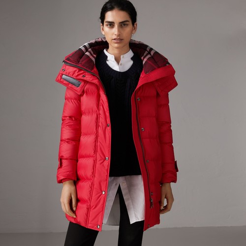 Down-filled Puffer Coat With Detachable Hood