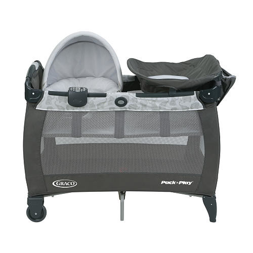 Graco Pack 'n Play Playard With Newborn Napper Station, Changing Table & Soothe Surround Technology - Eli