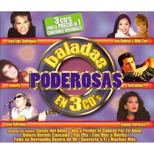 Baladas Poderosas En 3 CDs [CD]