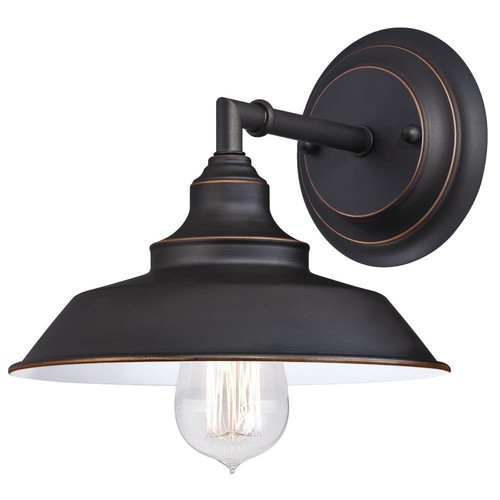 Westinghouse Iron Hill 1-Light Oil Rubbed Bronze Wall Fixture