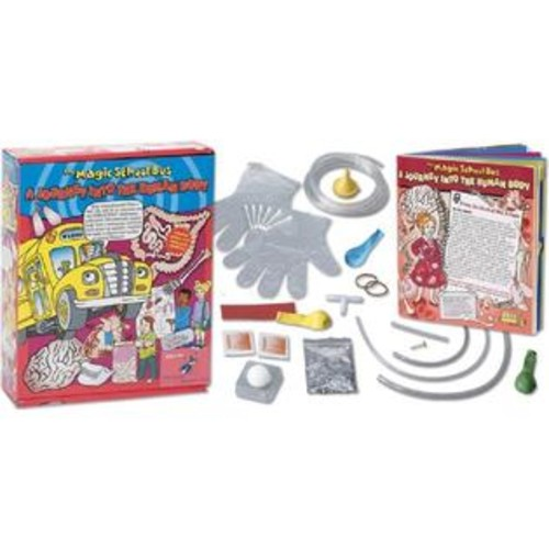 The Young Scientists Club WH-925-1125 Magic School Bus Series- A Journey Into The Human Body Kit