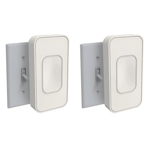 Switchmate Light Switch Toggle, Ivory (2-Pack)