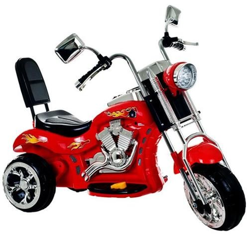 Lil Rider 80-VC108 Lil Rider Red Rocking Three Wheel Chopper Motorcycle