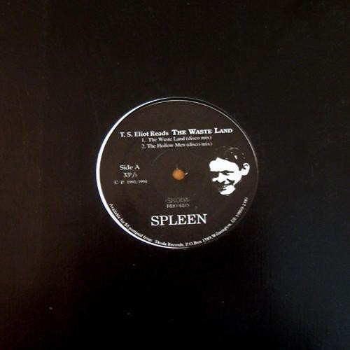 T.S. Eliot Reads the Wasteland [12 inch Vinyl Single]