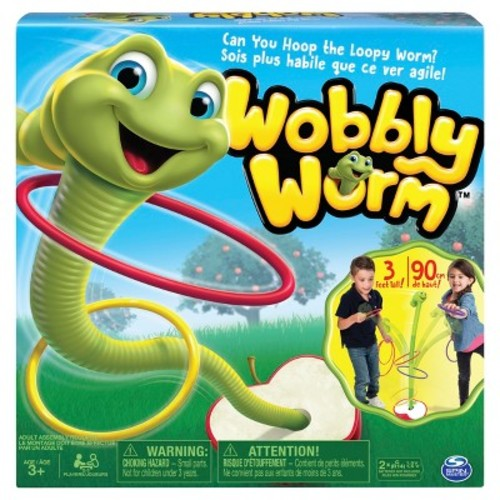 Spin Master Games Wobbly Worm Ring Toss Game