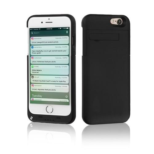 Indigi External Reserve Smart Battery Case for iPhone 7- 3200mAh - Black