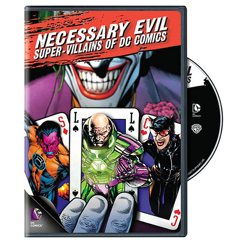 Necessary Evil: Super-Villains of DC Comics (Blu-ray Disc) 2013