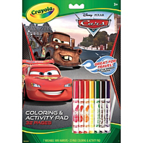 Crayola Coloring And Activity Pad With Markers