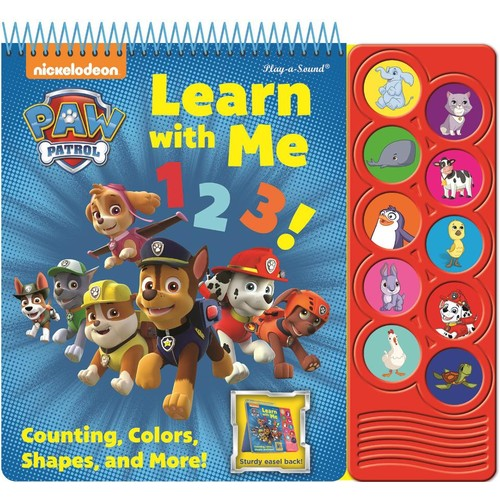 Paw Patrol Learn with Me 123! Easel Sound Book