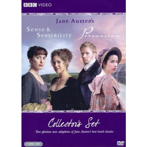Sense and Sensibility / Persuasion (Collector's Set) (3 Discs) (dvd_video)