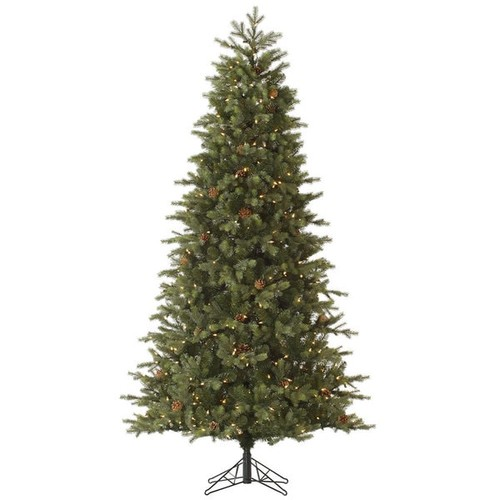 Vickerman Rocky Mountain Fir Slim EZ Plug 6-foot Artificial Christmas Tree With 350 Clear Lights