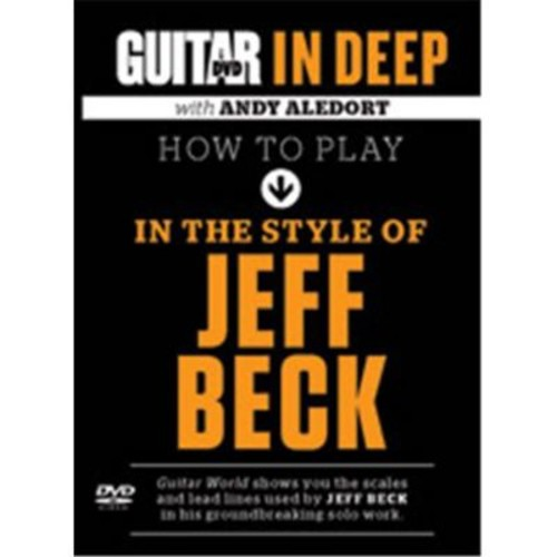 Alfred Guitar World - In Deep How to Play in the Style of Jeff Beck (LFR7574)