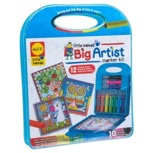 Alex Toys Little Hands Big Artist Marker Kit