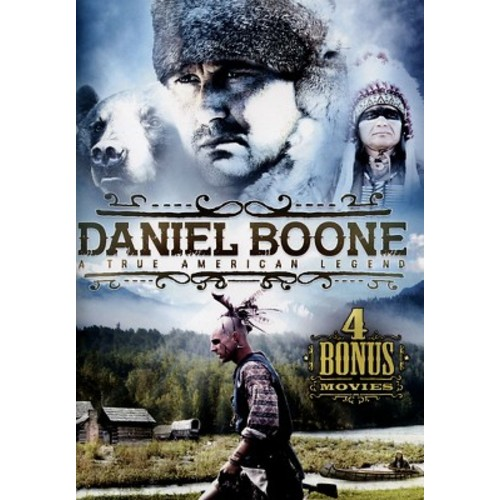 Daniel Boone: A True American Legend - 4 Bonus Movies [DVD]