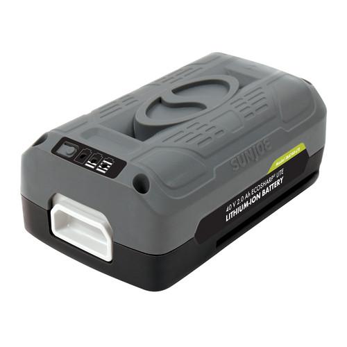 Sun Joe iBAT40-LTE iON EcoSharp PRO 40 V 2.0 Ah Lithium-Ion Battery -