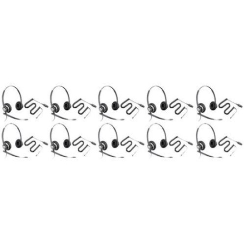 Plantronics EncorePro HW720 Stereo Corded Headset w/ Noise-Canceling Microphone (10 Pack)