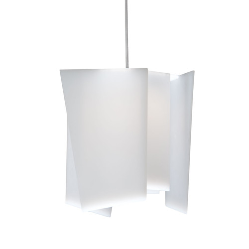 Levis 1-Light LED Mini Pendant by Cerno