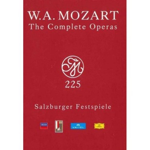 Mozart:Complete Operas (DVD)
