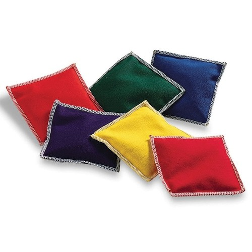 Learning Resources Camping & Hiking Gear Bean Bags Rainbow 6/Pk