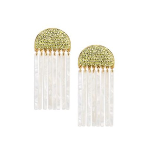 Confetti Crystal Comb Earrings