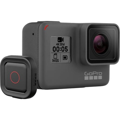 GoPro - HERO5 Black 4K Action Camera with Remote - Gray