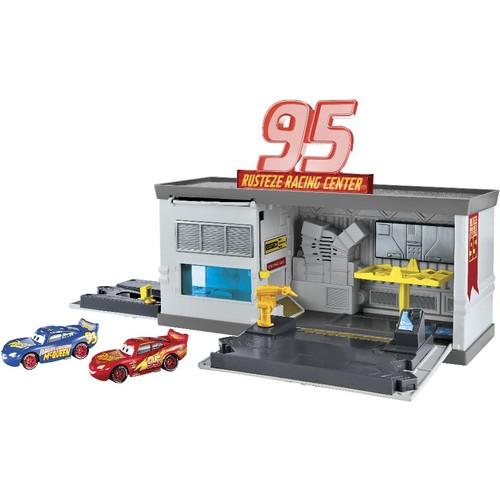 Disney Pixar Cars Dinoco Garage Transformation Playset
