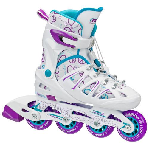 Roller Derby Stinger 5.2 Adjustable Girl's Inline Skate