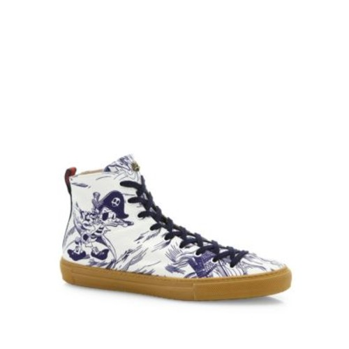 GUCCI Major Seastorm High-Stop Sneakers