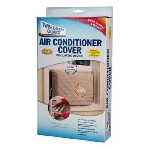 Twin Draft Guard Air Conditioner Cover