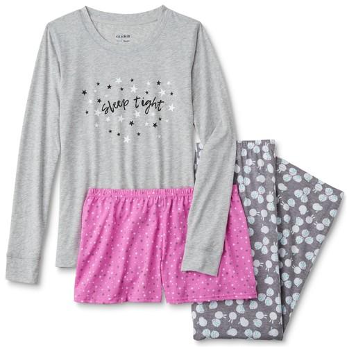 Joe Boxer Women's Pajama Shirt, Shorts & Pants