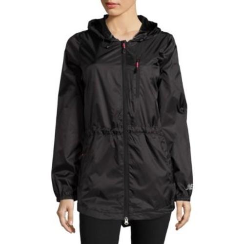 Zip-Front Solid Jacket