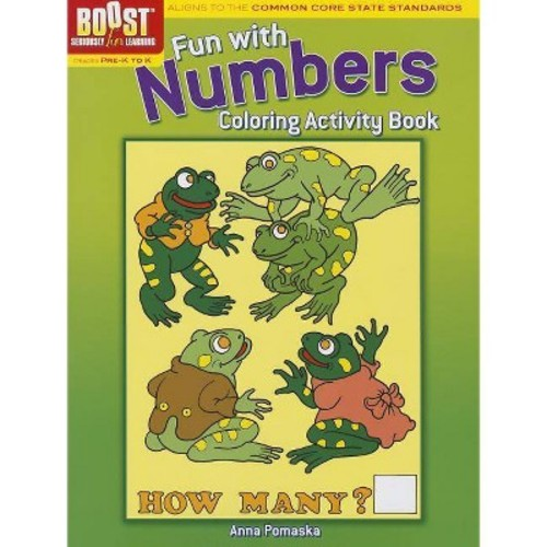 Dover Boost Fun With Numbers Coloring Activity Book