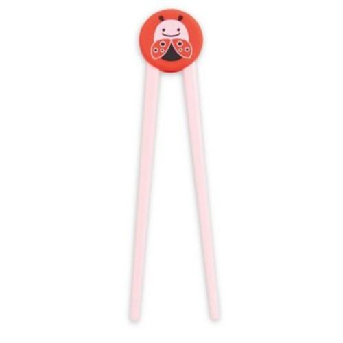 SKIP*HOP Zoo Ladybug Training Chopsticks