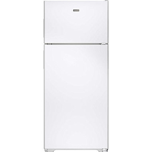 Hotpoint 17.6 cu. ft. Top Freezer Refrigerator in White