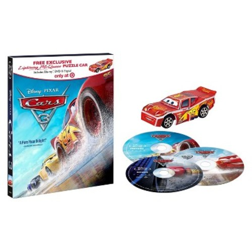 Cars 3 Target Exclusive Puzzle Car (Blu-ray + DVD)