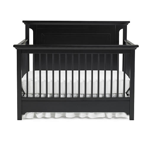 Ti Amo Palazzo 4-in-1 Convertible Crib - Black Onyx