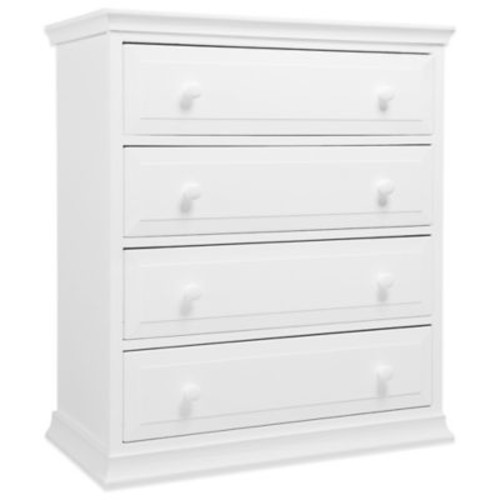 DaVinci Signature 4-Drawer Tall Dresser in White