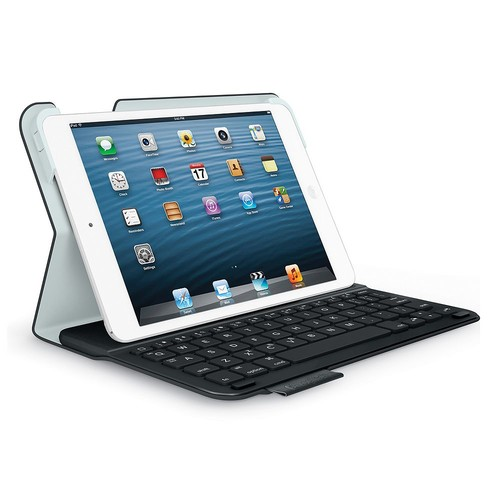 Logitech Ultrathin Keyboard Folio for iPad mini 3/ mini 2/ mini - Carbon Black [Carbon Black]