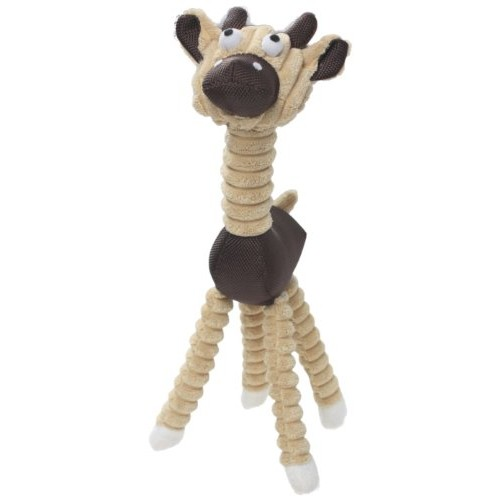 Jute And Rope Giraffe - Pig Pet Toy [Brown, One Size]