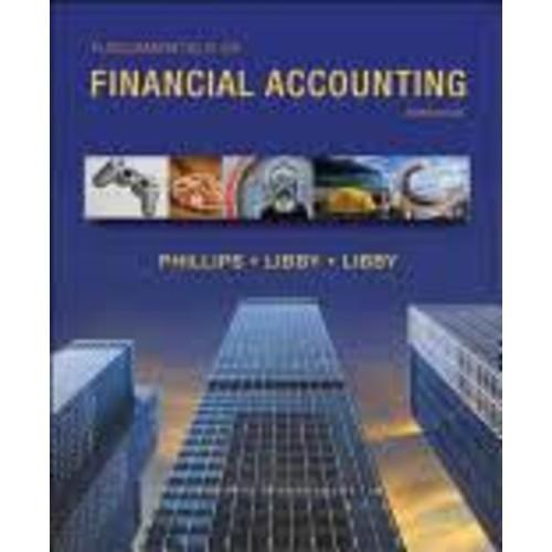 Fundamentals of Financial Accounting [Book]