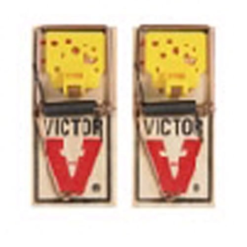 Victor M035 Easy Set Mouse Traps 2 Count
