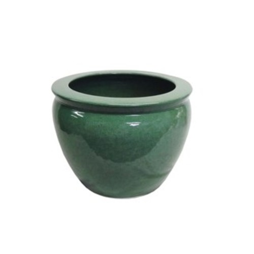 AMITA TRADING Planters, Hangers & Stands Porcelain Green Planter