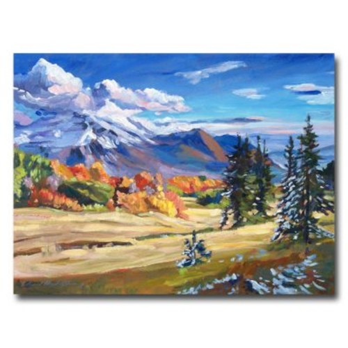 Trademark Fine Art 'Autumn in the Foothills' 24